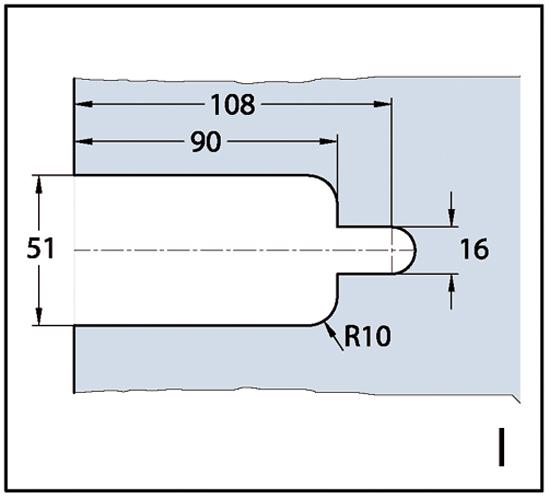 Duschtürband Milano Glas-Wand 135°