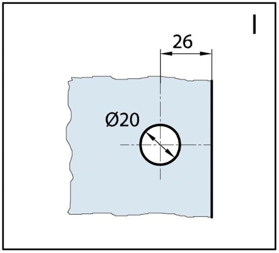 Längsverbinder Wellness® Glas-Wand 180°