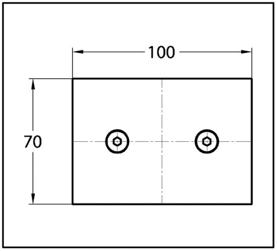 Längsverbinder Wellness® Glas-Glas 180°