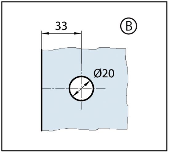 Winkelverbinder Wellness® Glas-Glas 90°