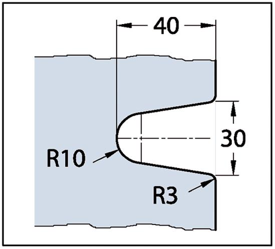 Längsverbinder Milano Glas-Wand 180°