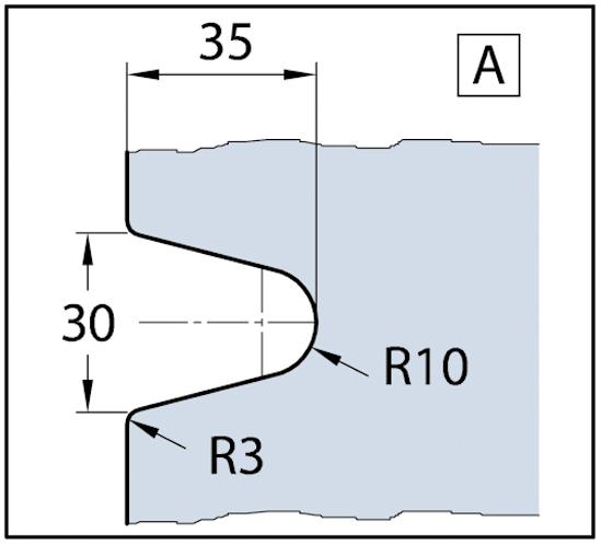Winkelverbinder Fit / Crossover Pur / CULT Glas-Glas 90°