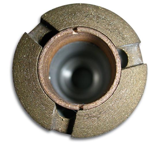 Industrie-Diamanthohlbohrer mit Tiefsenker