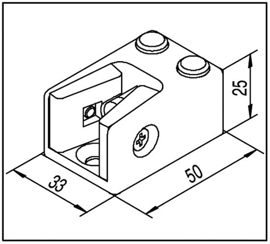 SlideTec modul 80 Anschlagpuffer