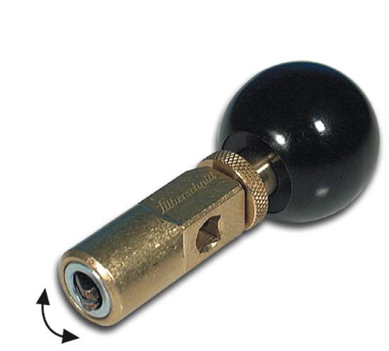 Rundschneider Silberschnitt® mit kugelgelagertem Schneidkopf