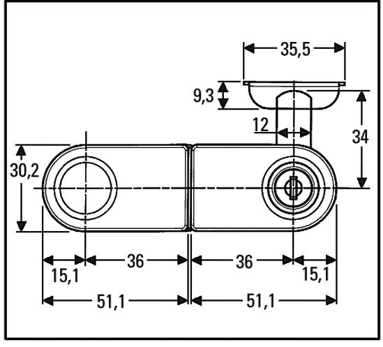 Glass Door Lock With Strike Plate And Cylinder Lock Glass Door