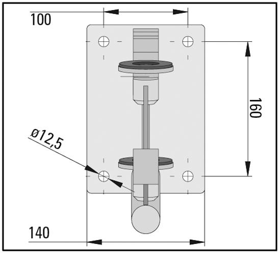 Vordachsystem Bohle Smart · Lieferung ohne Glas!