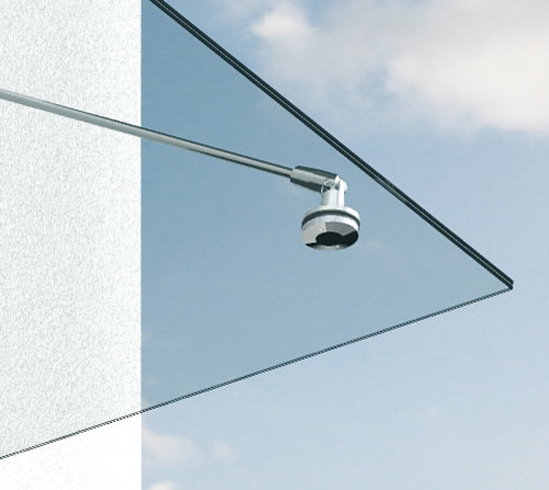 Sistema de marquesinas · ¡Suministrado sin vidrio!