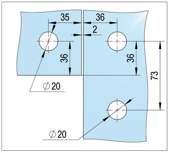 Unión angular PT60