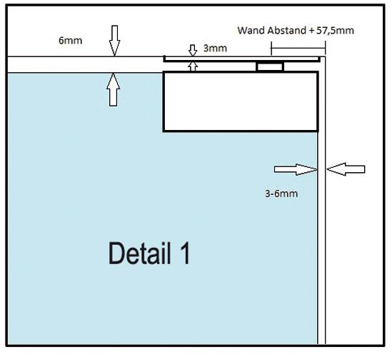 set selbstschlie ender eckbeschlag standard duty en3 inkl eckbeschlag pt20 plus und. Black Bedroom Furniture Sets. Home Design Ideas