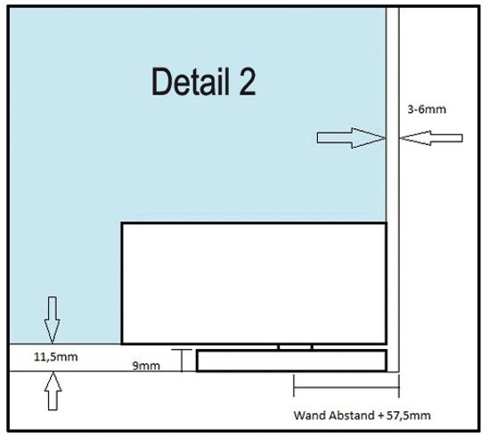 Set selbstschließender Eckbeschlag Heavy Duty EN5 inkl. Eckbeschlag PT20 PLUS HD und Deckendrehpunkt