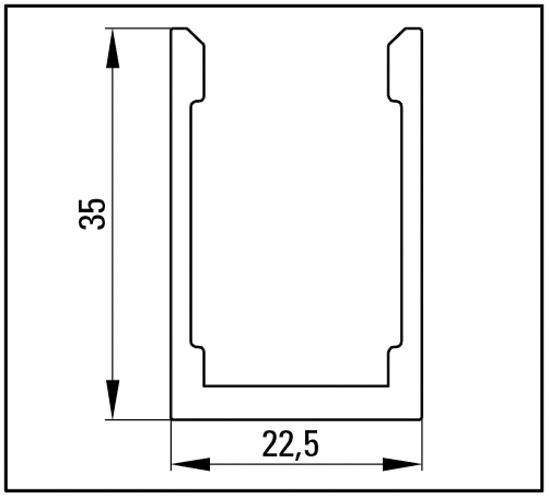 Portavant Deckenprofil