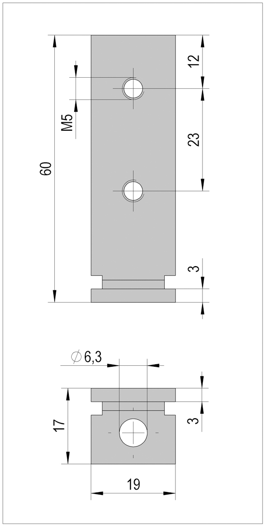 FrameTec Select 2.0 bottom mounting bracket