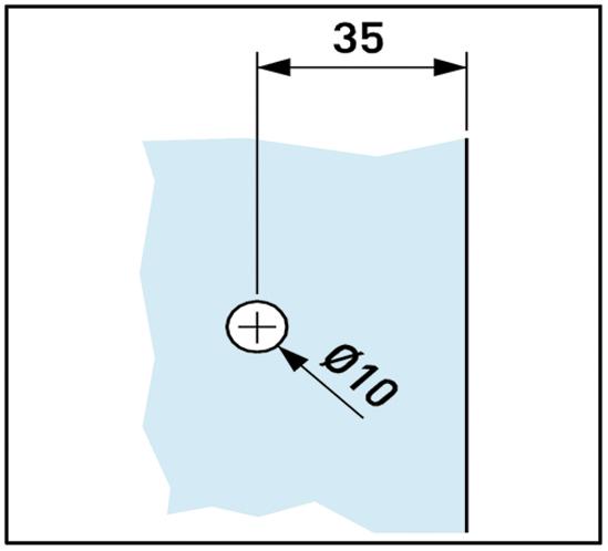 Aquant 40 Griff Ø 39 mm
