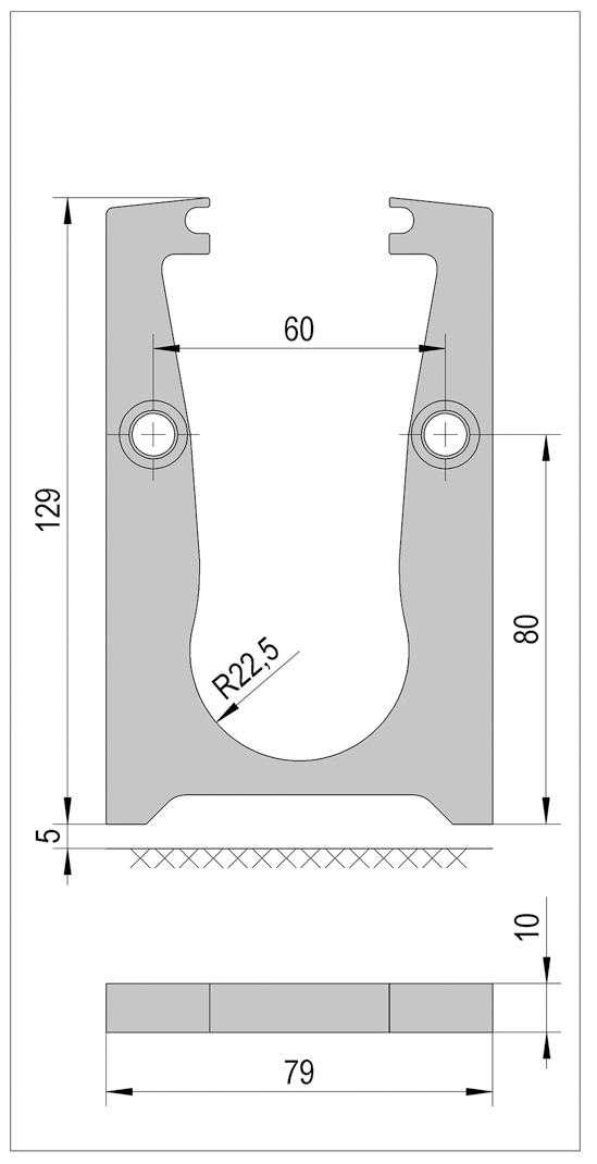 VetroMount® tussenverbinder voor drainage