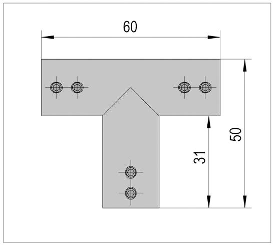 Three-Point Connector round Bohle Basic round ø12