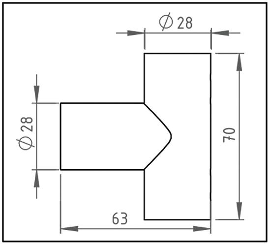 Dreieckverbinder Bohle round ø19