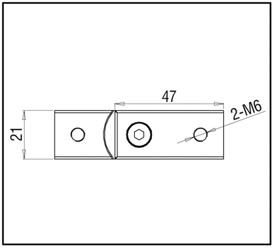 Eckverbinder verstellbar 90°-180° Bohle square 15x15