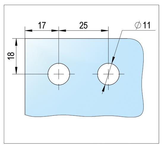 Bohle MasterTrack® ST Glass mounting kit