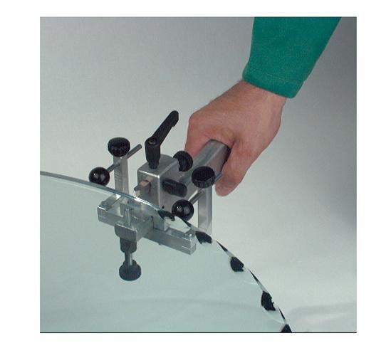 Ausmuschelwerkzeug Silberschnitt® fürdieGlaskantenbearbeitung