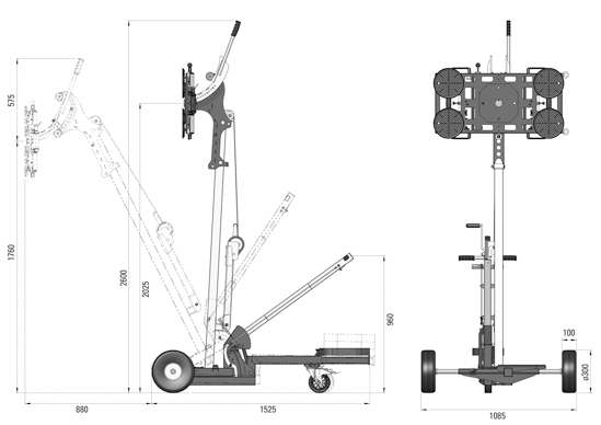 Liftmaster B1 lyftsystem
