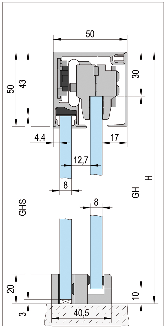 Bohle MasterTrack® ST Profile Set
